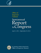 Cover of the Fall 2011 Semiannual Report
